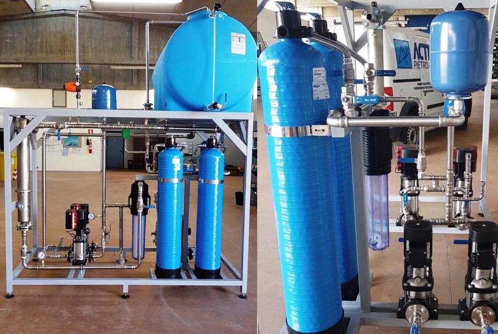 acqua super demineralizzata